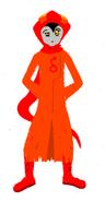 Godtiersetern orange