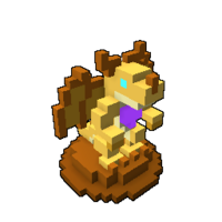 Golden Dragon Effigy