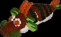 Delicious Dragon Roll Model