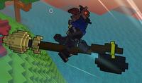 Levitating Broomstick ingame