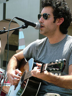 Joshua Radin on the Coca Cola Unplugged Stage