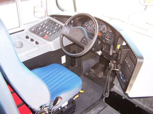 International 3300 Drivers view