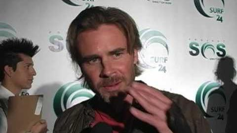 True Blood's Sam Trammell, Natasha Alam & Michelle Forbes at Actors for Oceans