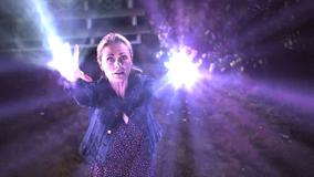 Sookie uses fae powers