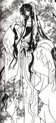 King Ashura in the manga