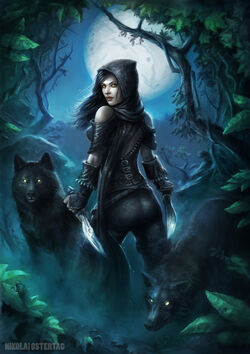 Wolf assassin by nimao-d6jmuae