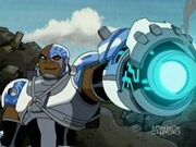 Cyborg in Teen Titans