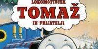 Thomas and the Christmas Tree (Slovenian DVD)
