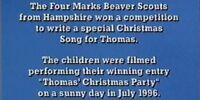 Thomas' Christmas Song