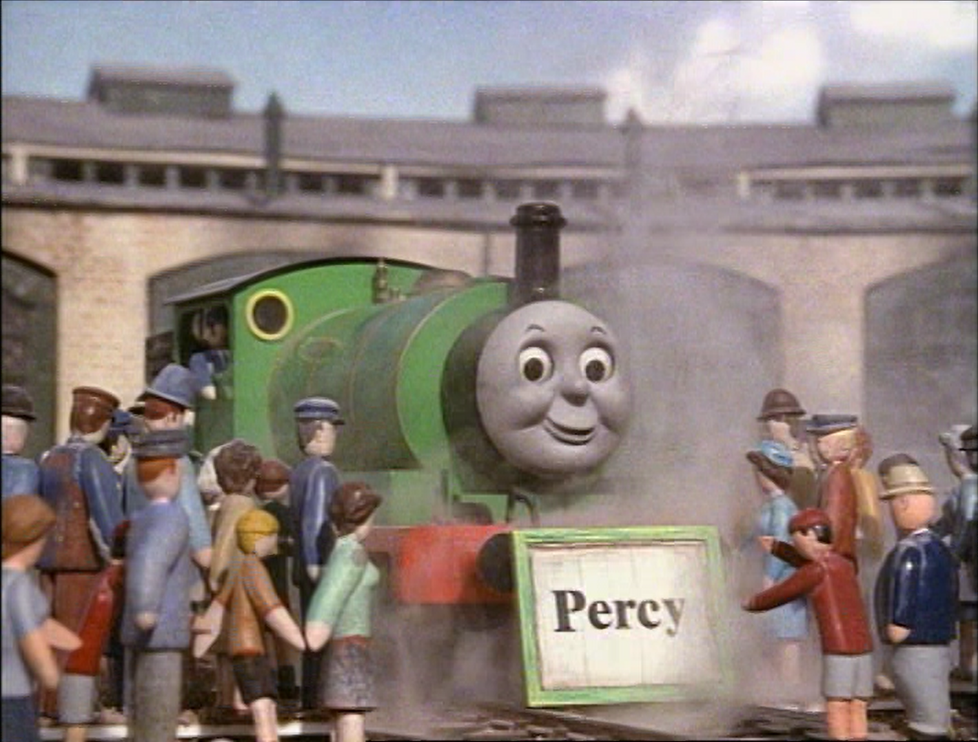 Image - Percywithnameboard.png | Thomas the Tank Engine Wikia | FANDOM powered by Wikia