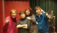 RyoHorikawa with Dragon Ball Z Cast