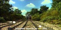 Thomas and James are Racing