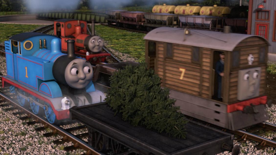The Christmas Tree Express Thomas The Tank Engine Wikia 5856486