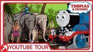 "Thomas Gets an Elephant Washdown ""Sri Lankan Style"""