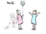 Kids 05 CGI Sketch Design