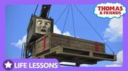Cranky Dropped a Crate Life Lesson Admitting Your Mistakes Thomas & Friends UK