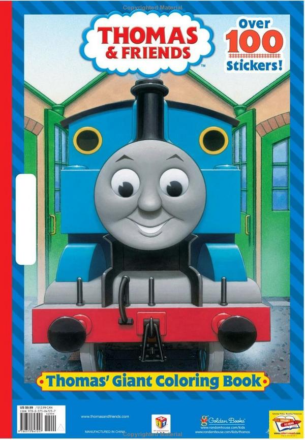 thomas giant coloring book thomas the tank engine wikia fandom powered by wikia - Giant Coloring Book