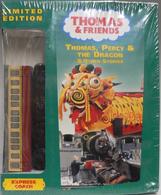 Thomas,PercyandtheDragonandOtherStoriesDVDwithWoodenRailwayExpressCoach