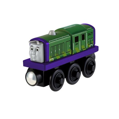 File:WoodenRailwayProtoypeGreenSalty.jpeg