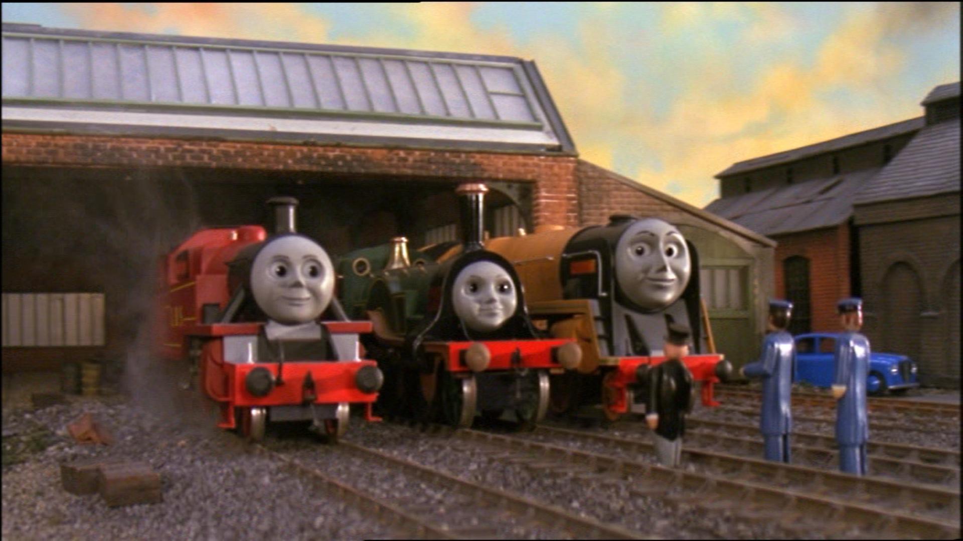 Knapford Sheds Thomas The Tank Engine Wikia Fandom