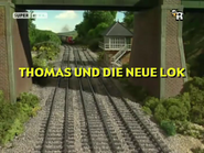 ThomasandtheNewEngineGermantitlecard