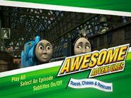AwesomeAdventuresRaces,ChasesandRescuesDVDMenu
