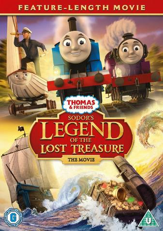 きかんしゃトーマス 探せ!!謎の海賊船と失われた宝物(英国版)