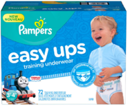 PampersEasyUpsThomasTrainingPants