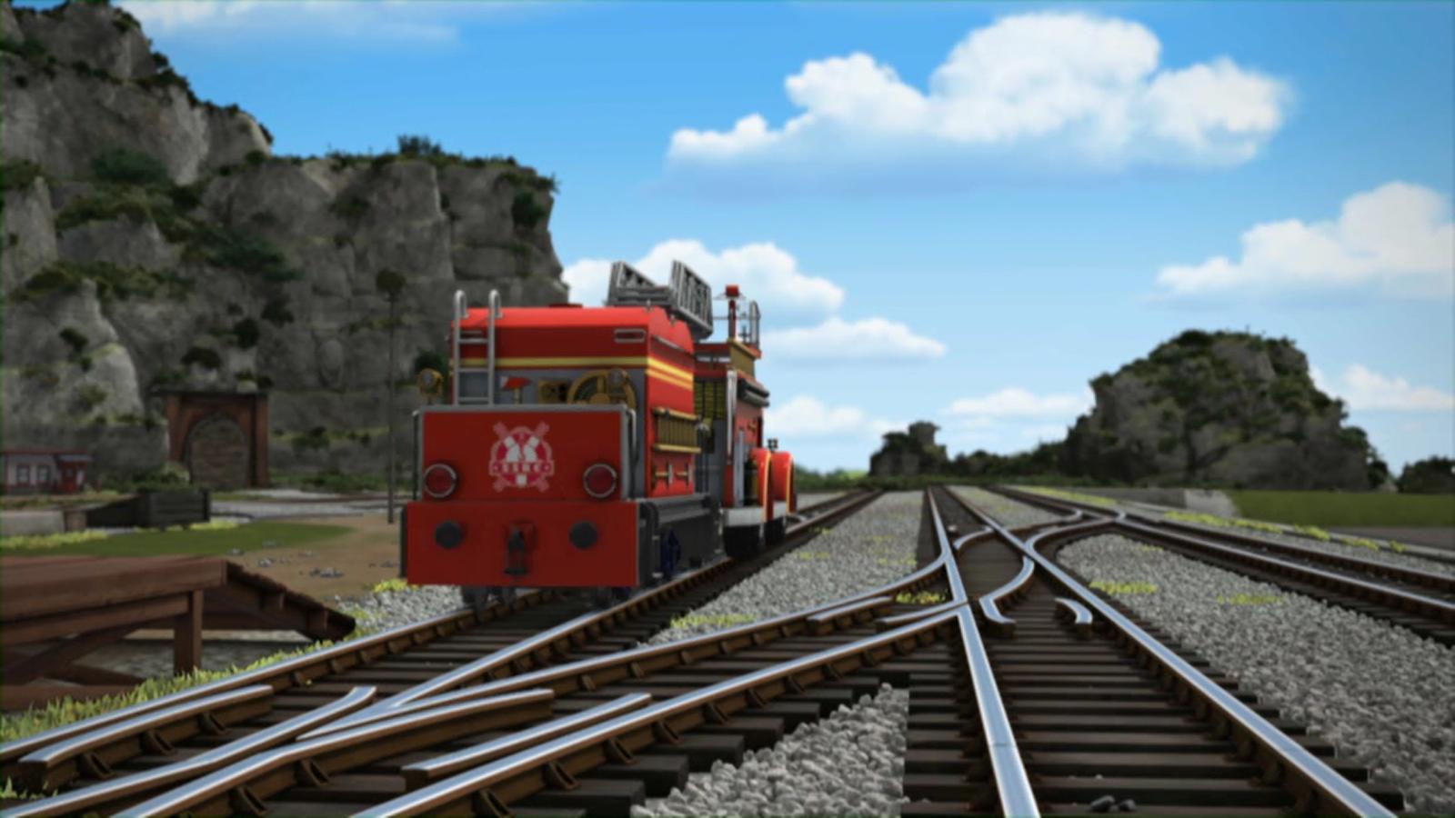 Thomas Friends Season 17 Episode 16 Too Many Fire: Image