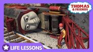 Rocky Got Derailed & Fell Off the Track Life Lesson Teamwork