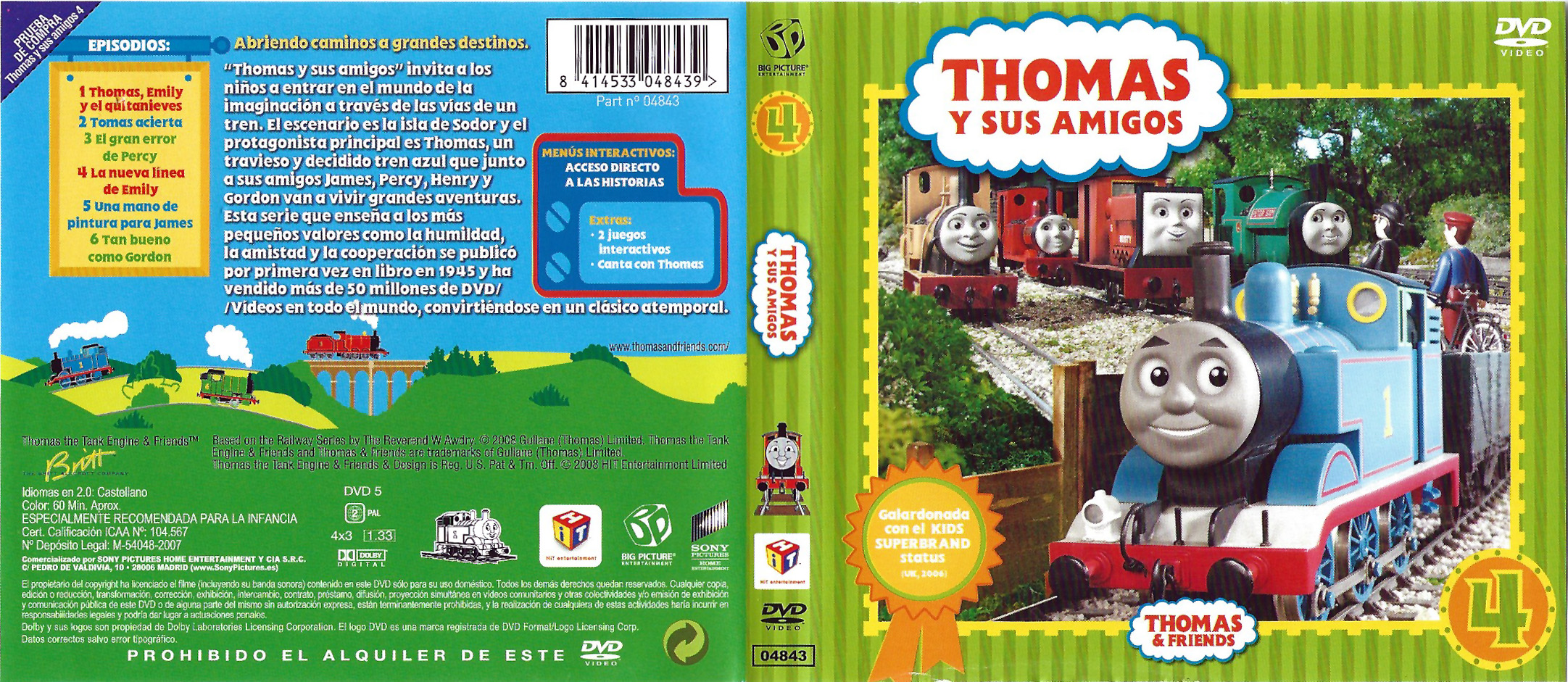 File:ThomasandFriendsVolume4(SpanishDVD).png