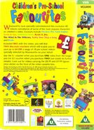 Children'sPre-schoolFavourites1995backcoverandspine
