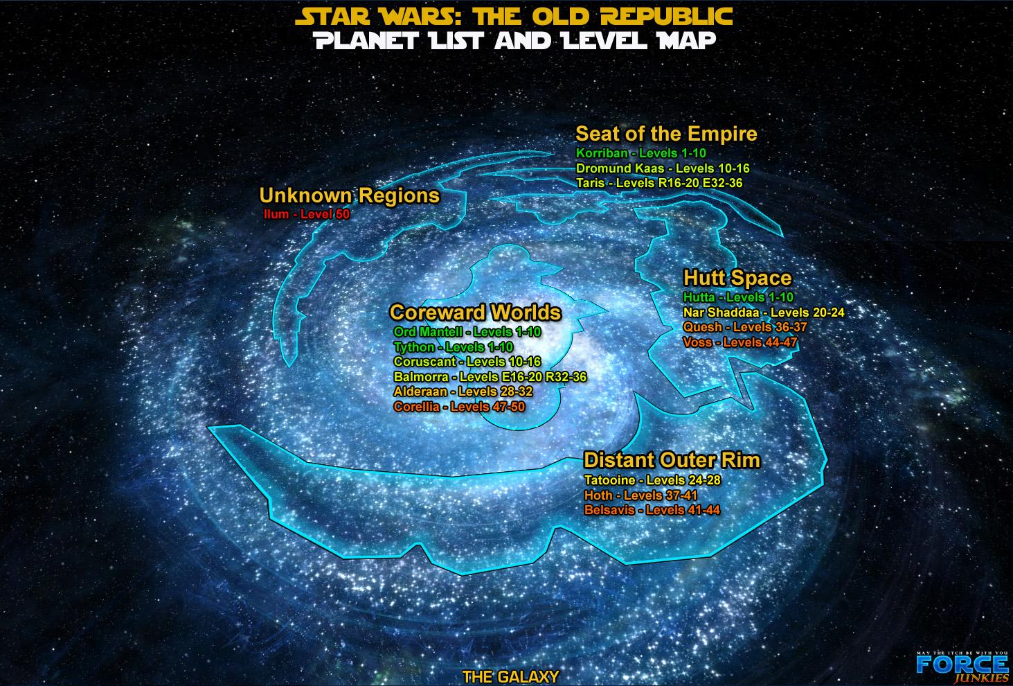 Image - SWTOR planets.jpg | TTverse Wiki | Fandom powered by Wikia