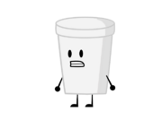 Paper Cup standing