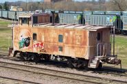 Left to Rot -- an Otter Tail Valley Railroad Caboose