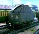 Dock Railway Freight Cars