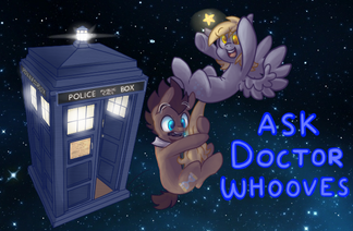 Ask Doctor Whooves header