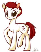 Doodle normal pony