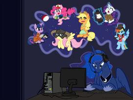 Gamer luna desktop by ruby sunrise-d54ew81