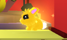 Founder Bunny in-game.
