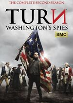 Turn Season 2 DVD front cover