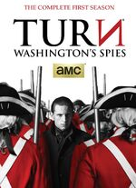 Turn Season 1 DVD front cover