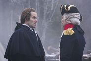 George Washington meets Gilbert du Motier, Marquis de Lafayette