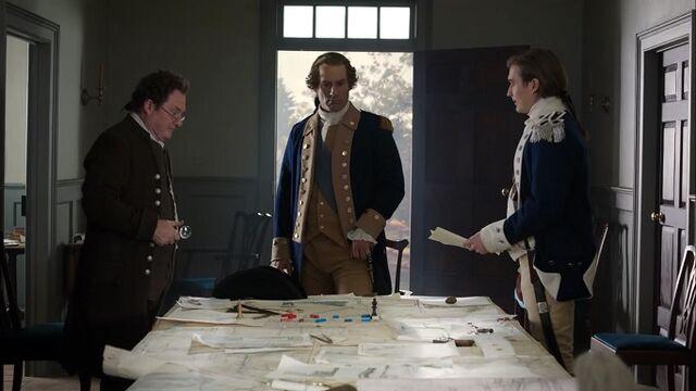File:George Washington meets with Benjamin Tallmadge and Nathaniel Sackett.jpg