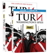 Turn Season 1 DVD and Blu-ray front covers