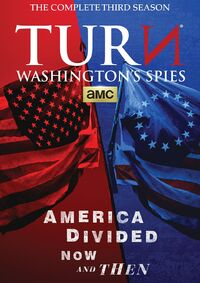 Turn Season 3 DVD front cover
