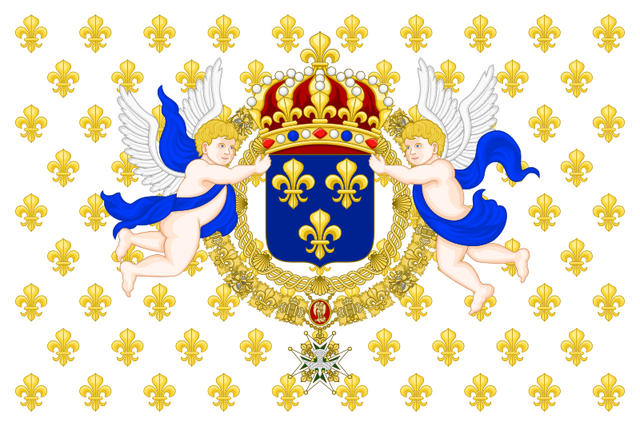 File:Royal Standard of the King of France.png
