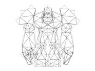 Turok Rage Wars Character Wireframe Juggernaut