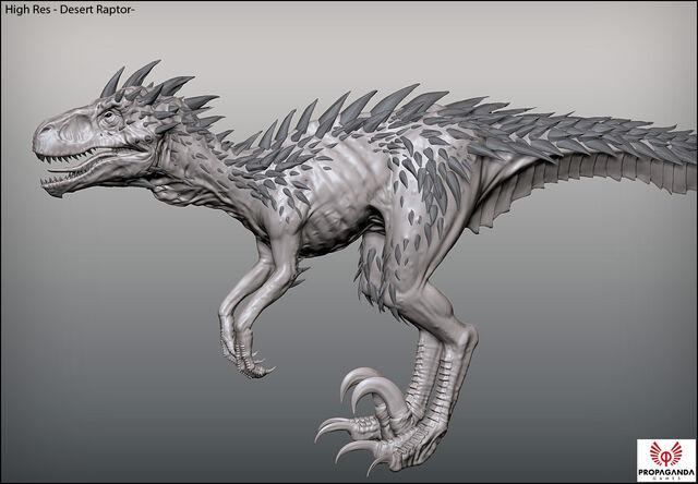 File:Turok 2 Raptor Render.jpg