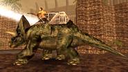 Turok Dinosaur Hunter Enemies - Triceratops (4)